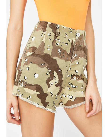 Desert Dancer Camo Shorts