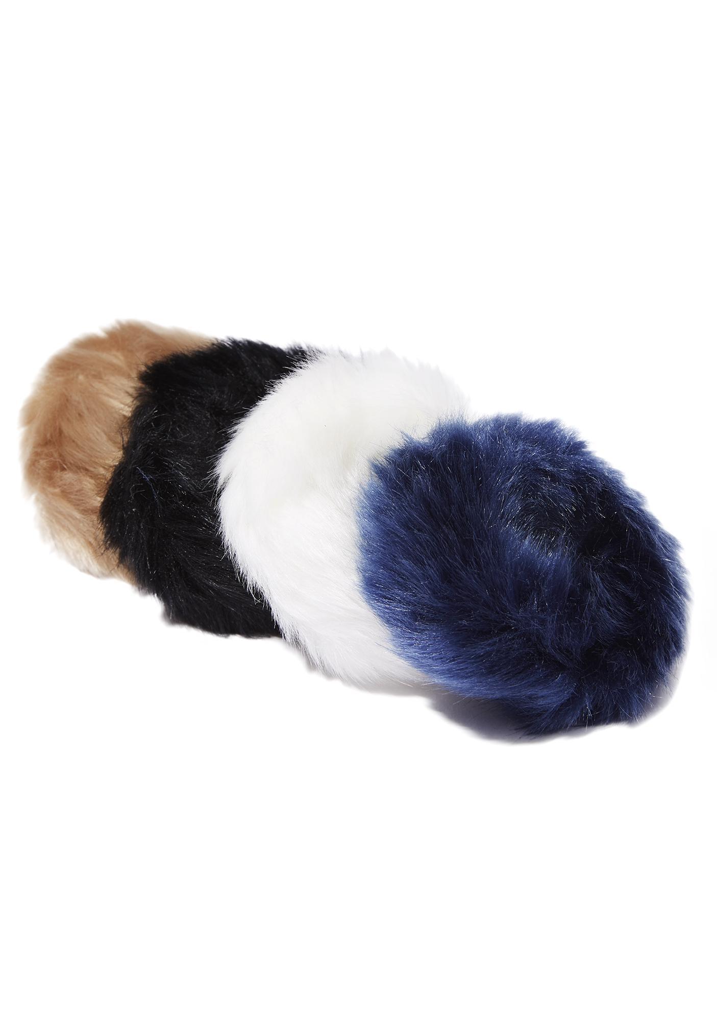 Fuzzy Scrunchies