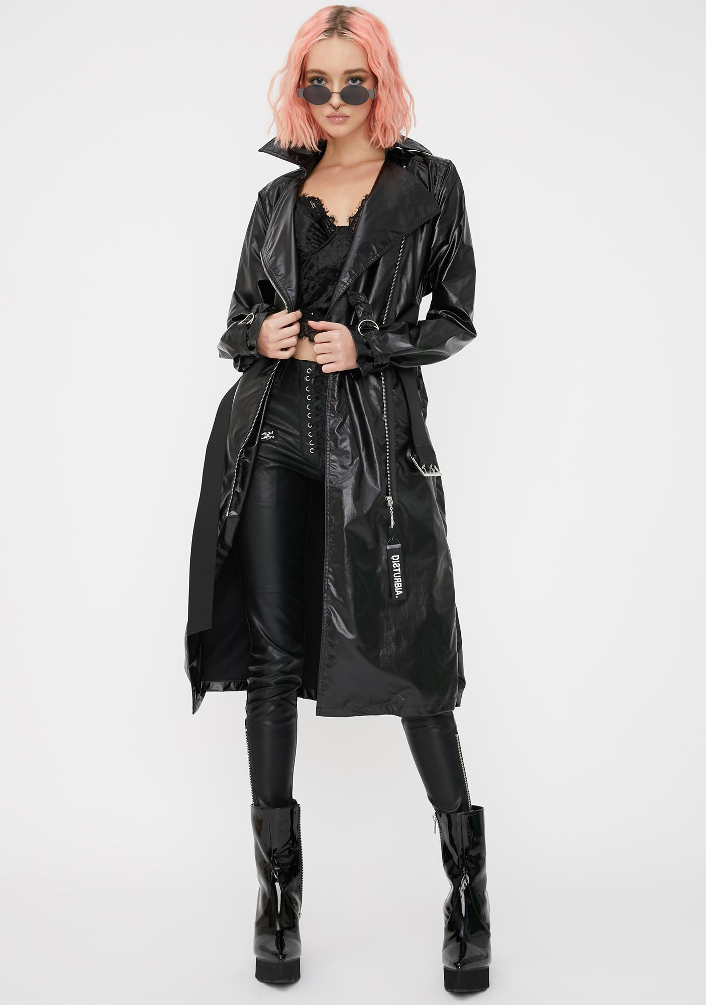 Disturbia Umbra Trench Coat