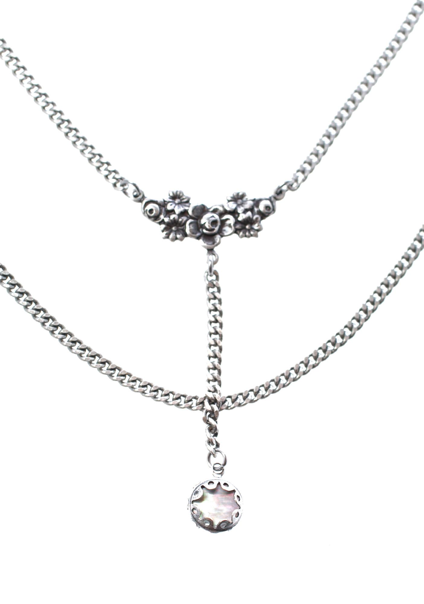 Regal Rose Blooming Rosa Head Chain