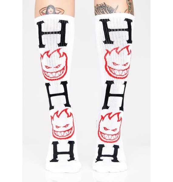 HUF Spitfire Bighead H Socks