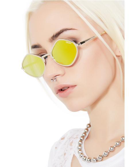 x Kylie Sol Purple Honey Sunnies