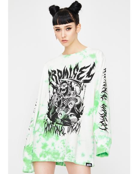 Emotional Wreck Long Sleeve Graphic Tee