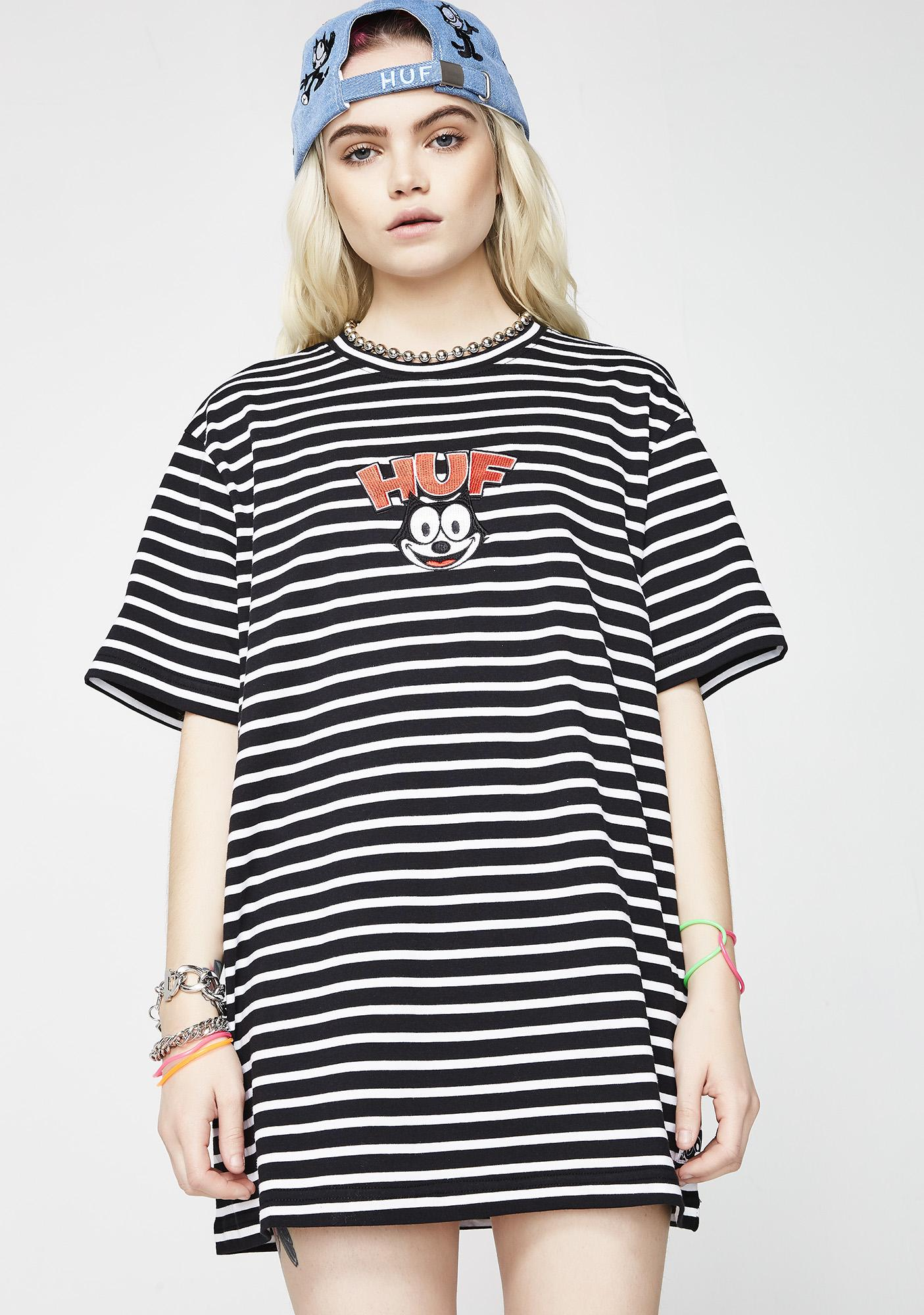 HUF Felix Striped Tee