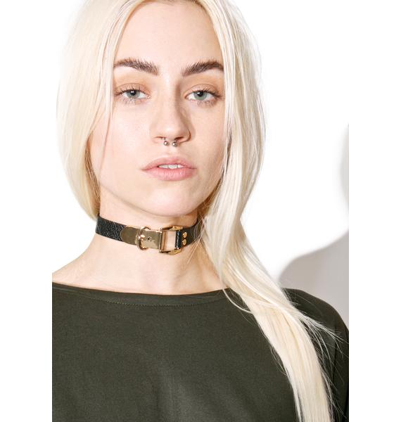 Locked In Buckle Choker