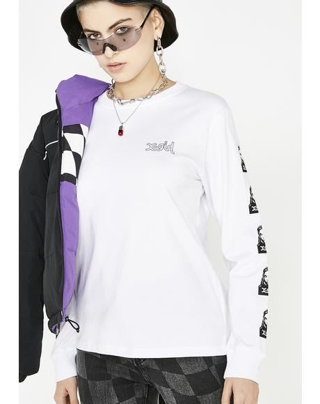 Face Long Sleeve Regular Tee