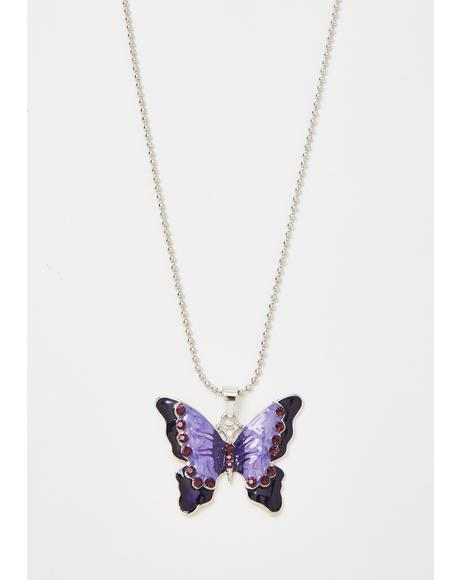 Magic Mariposa Chain Necklace