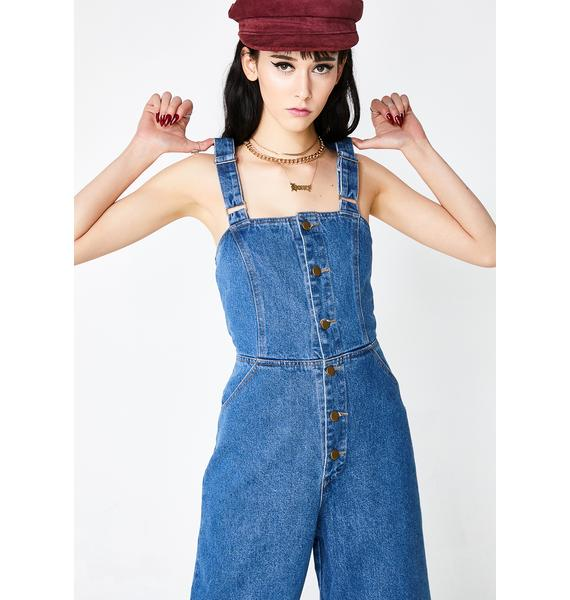 Can't Deny Denim Overall