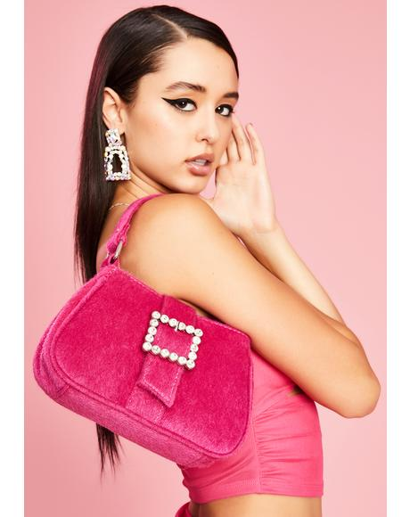 Spoiled Starlet Fuzzy Handbag