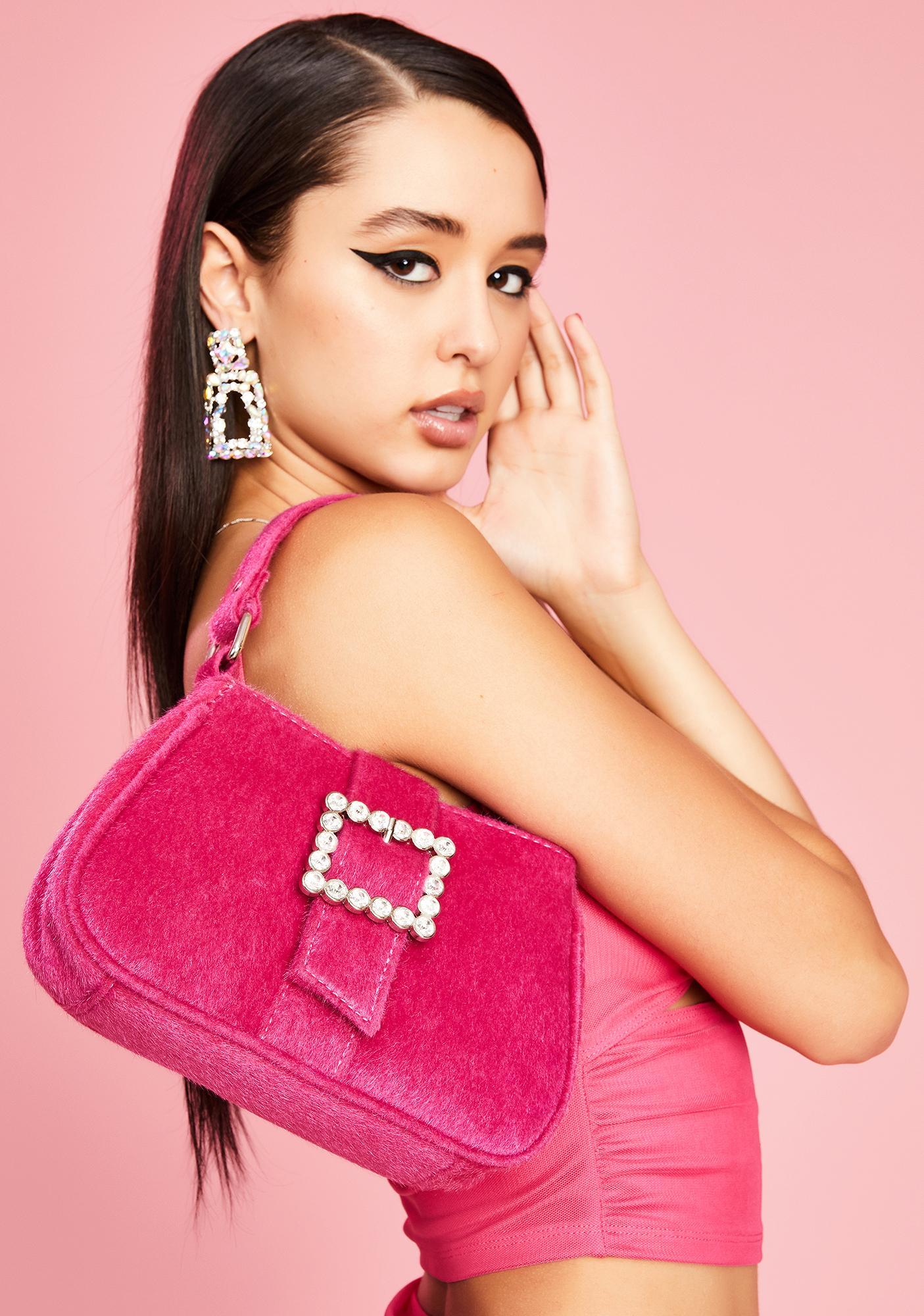 Sugar Thrillz Spoiled Starlet Fuzzy Handbag