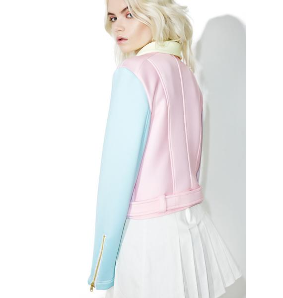Sugarpills Neoprene Moto Jacket