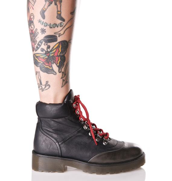 Matisse  Trent Lace-Up Boots