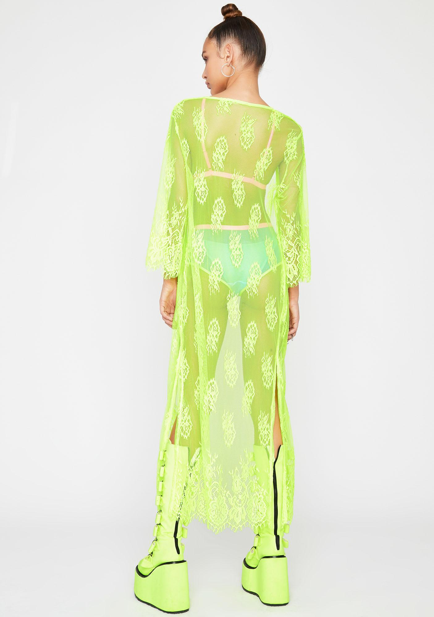 Toxic Midnight Magick Lace Duster