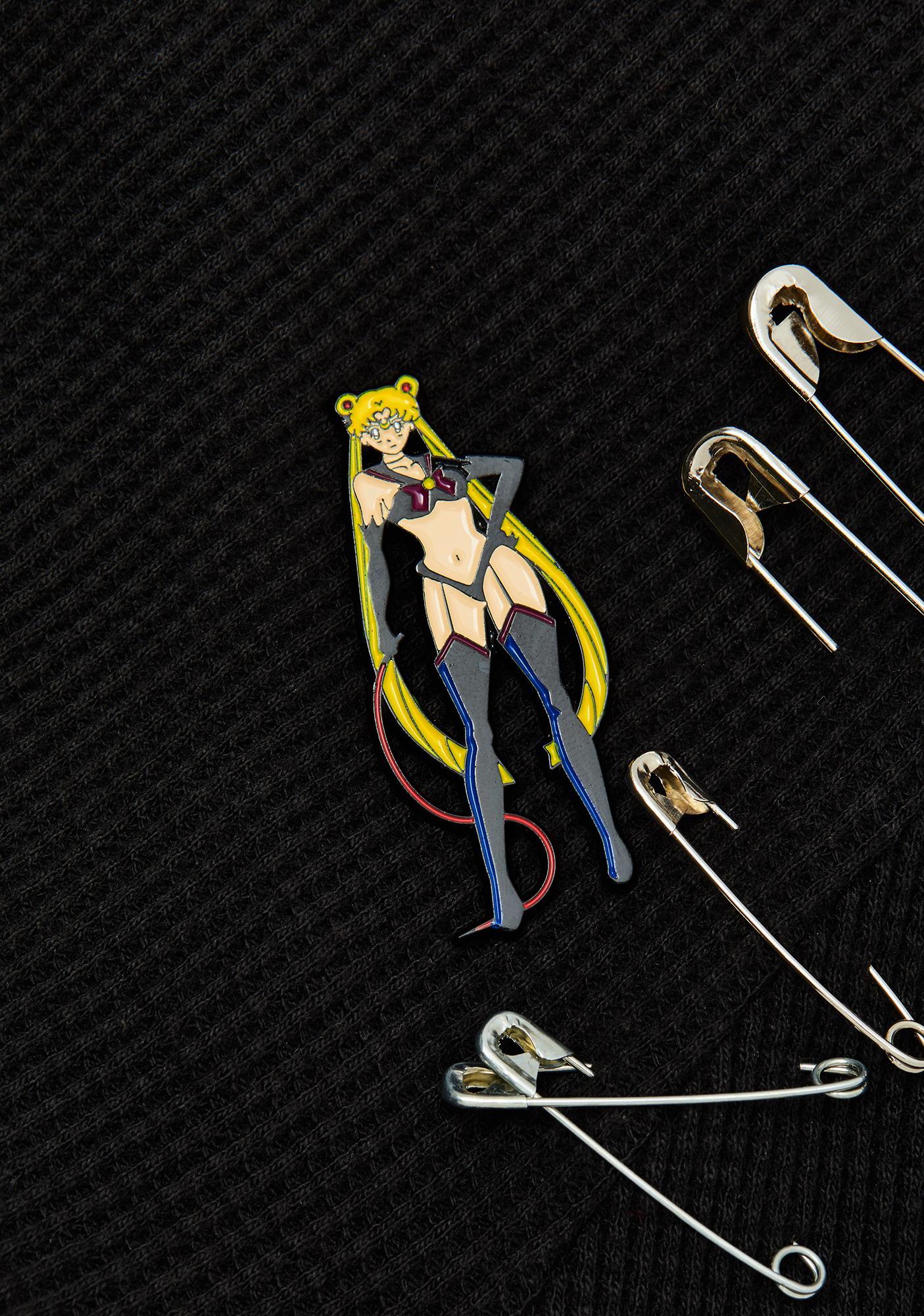 Geeky And Kinky Mistress Moon Enamel Pin