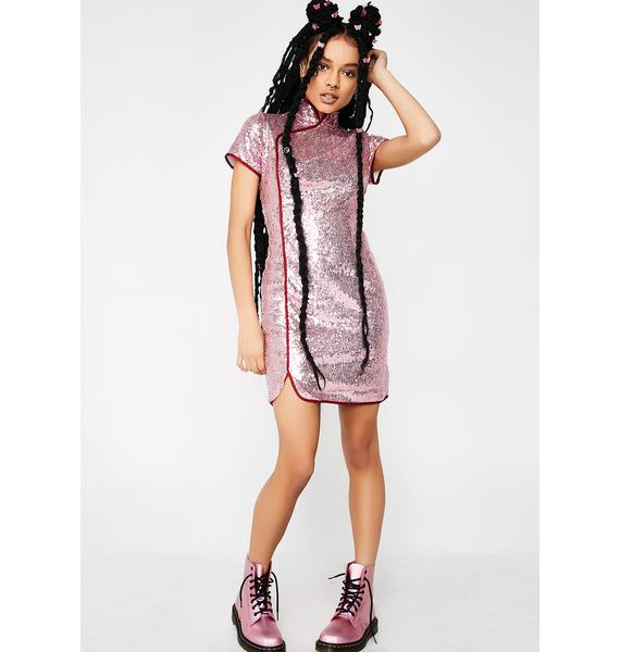 Glamorous You Want It Sequin Dress
