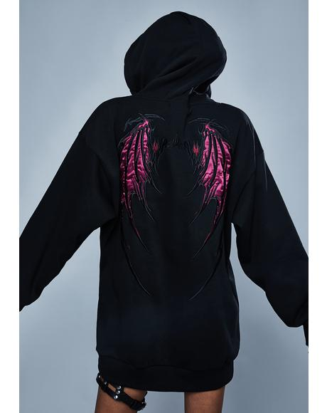Walk Through Fire Pullover Hoodie