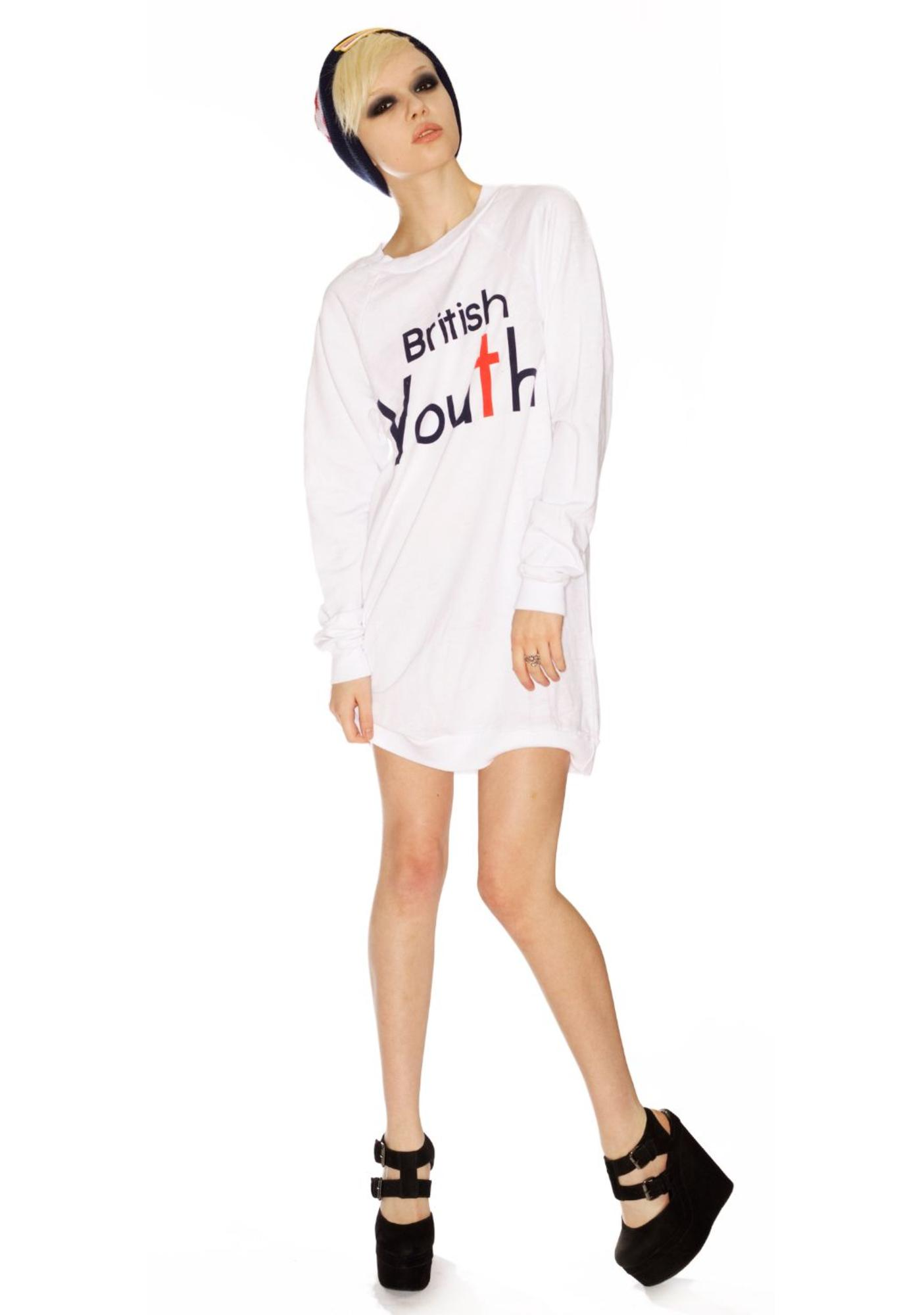 Wildfox Couture British Youth Night Hike Dress
