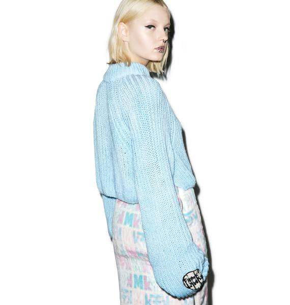 Maria ke Fisherman Fluffiest Crop Sweater
