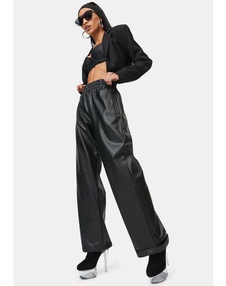 Juniper Vegan Leather Pants