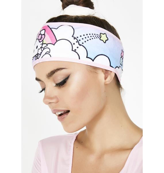 The Crème Shop Hello Kitty Unicorn Spa Headband