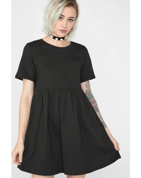 Dark Basically Bae Mini Dress