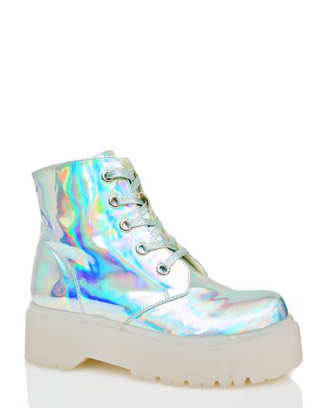 Hologram Slayr Boots