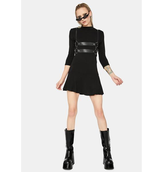 Ur My Inspo Long Sleeve Mini Dress