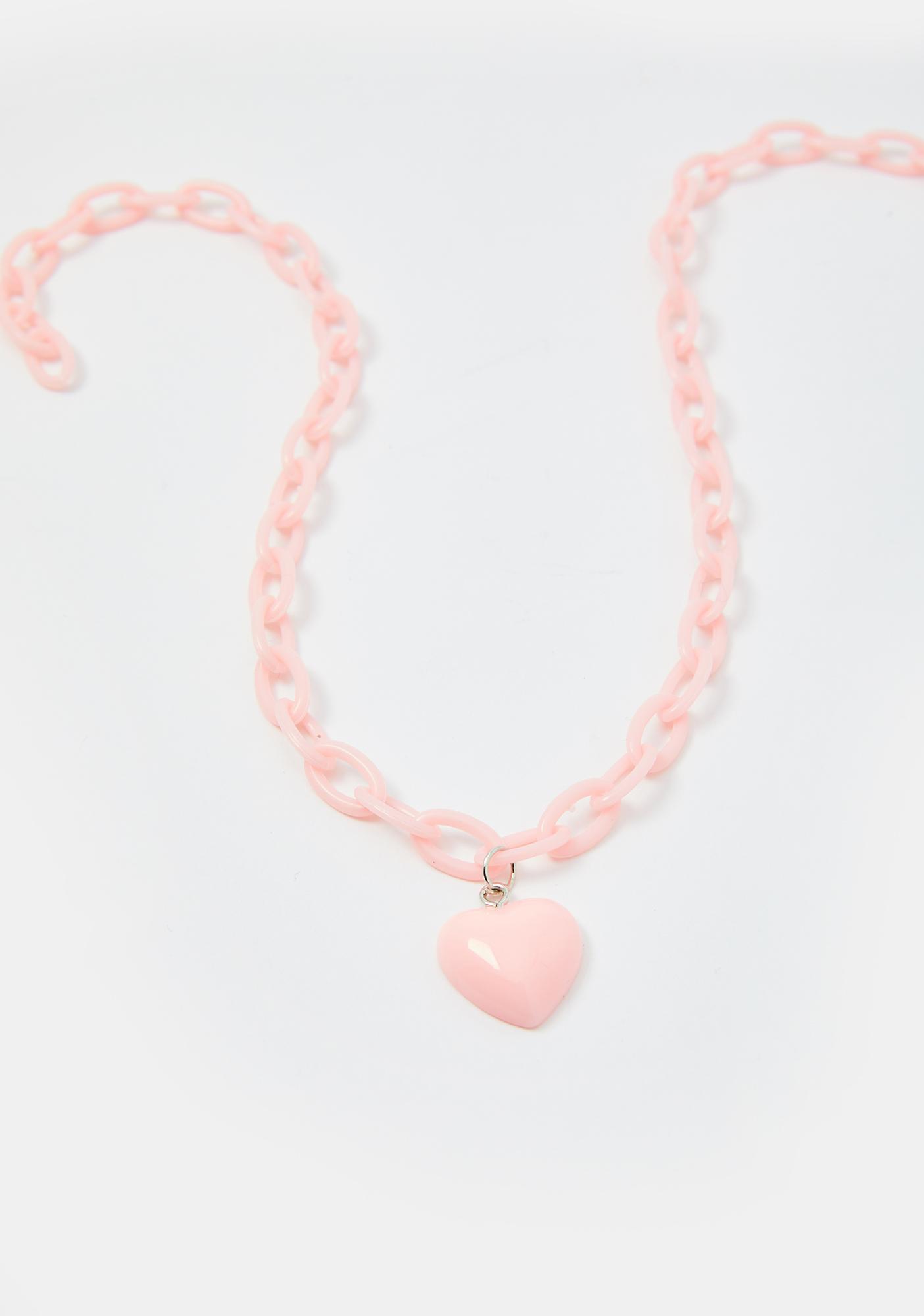 Pretty Punk Lover Chain Necklace