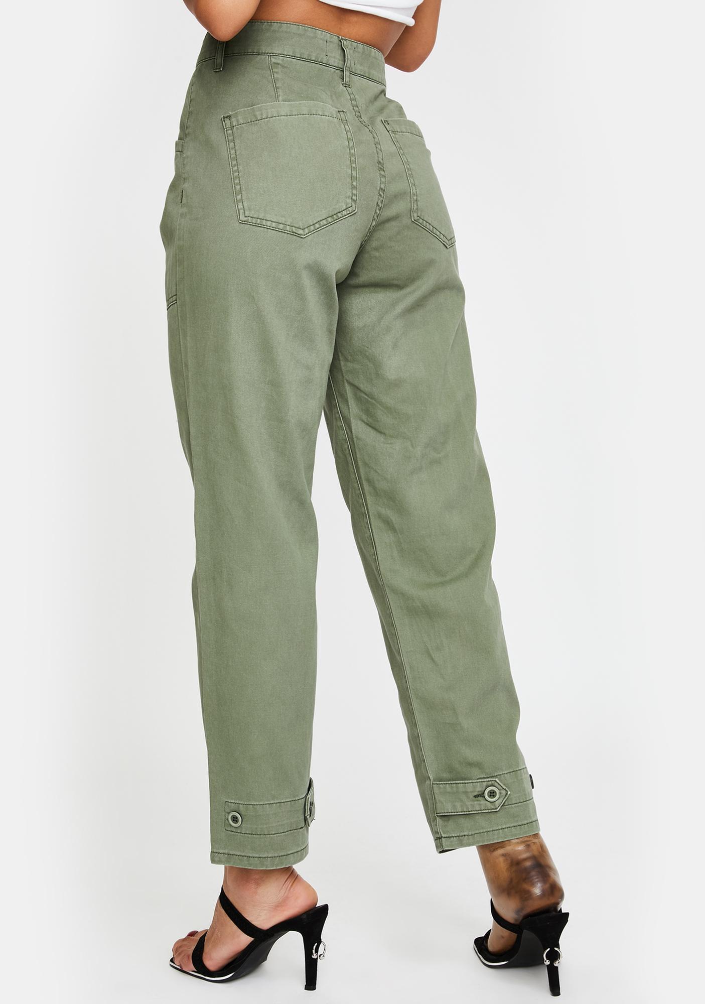 Pistola Tammy High Rise Cargo Jeans