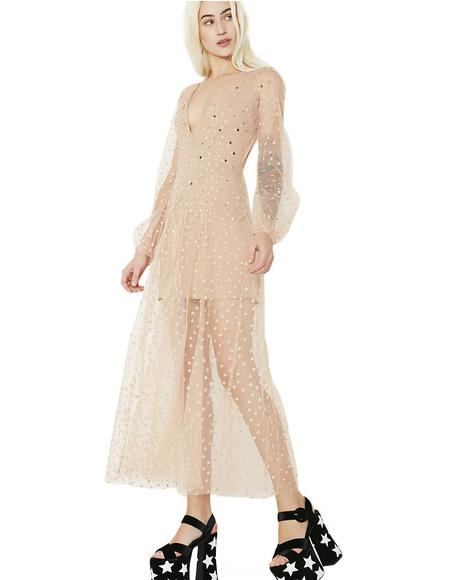 All That Glitters Maxi Dress
