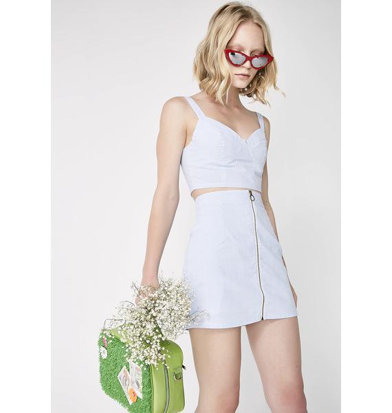 It's A Date Mini Skirt
