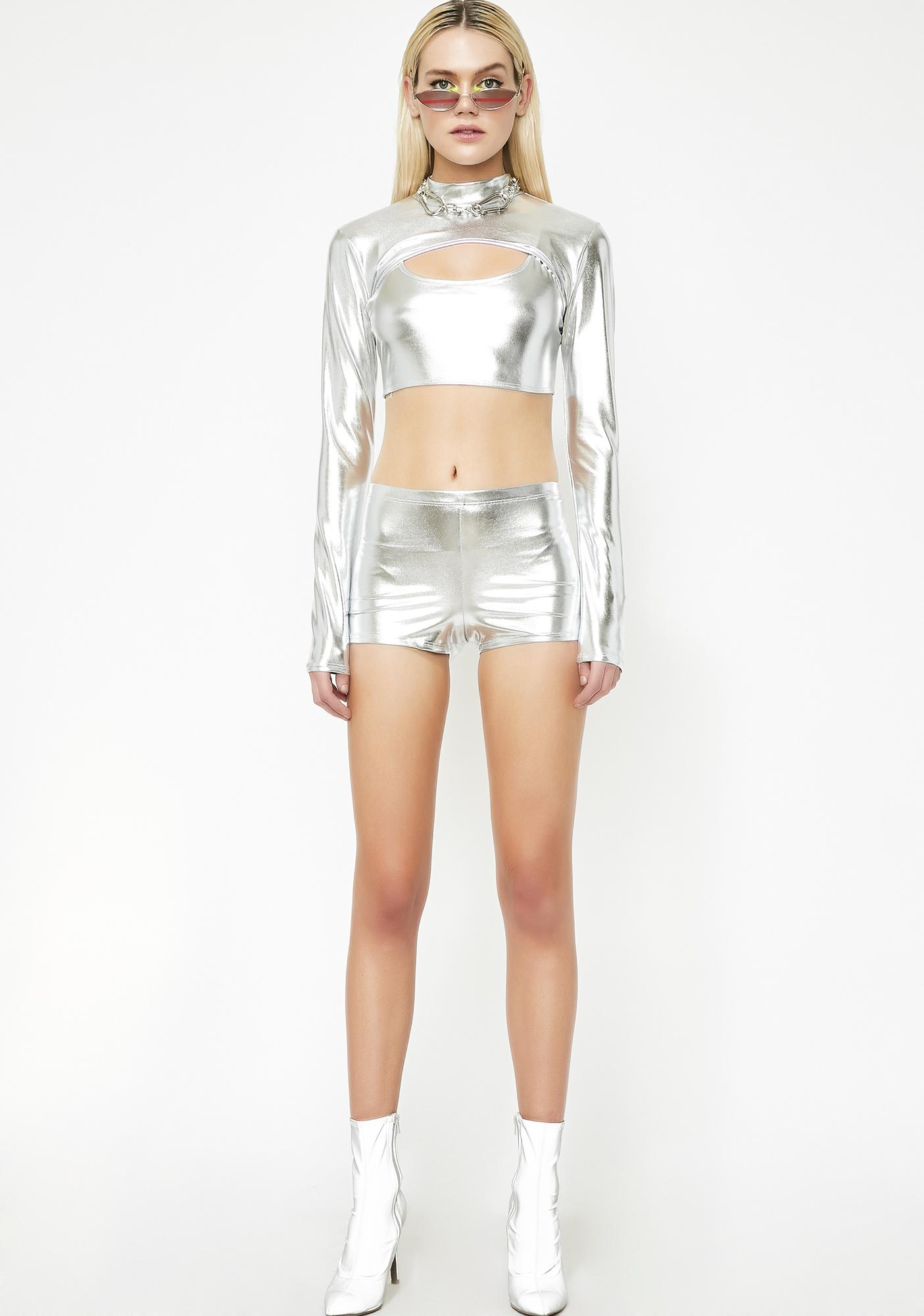 Platinum Cosmic Anomaly Metallic Set