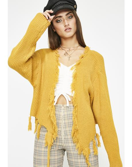 Summer Bummer Wrap Sweater