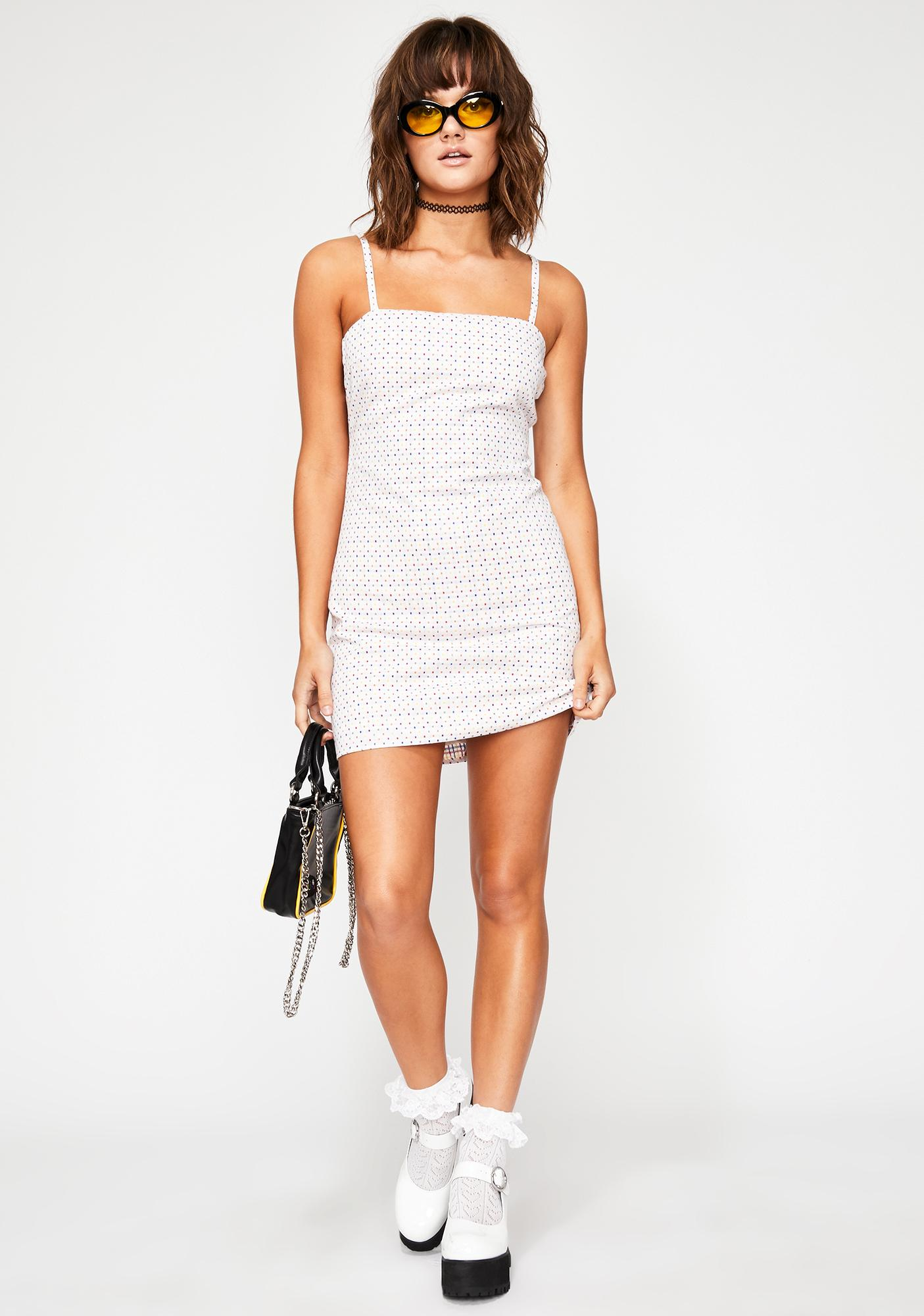 Crowd Pleaser Mini Dress