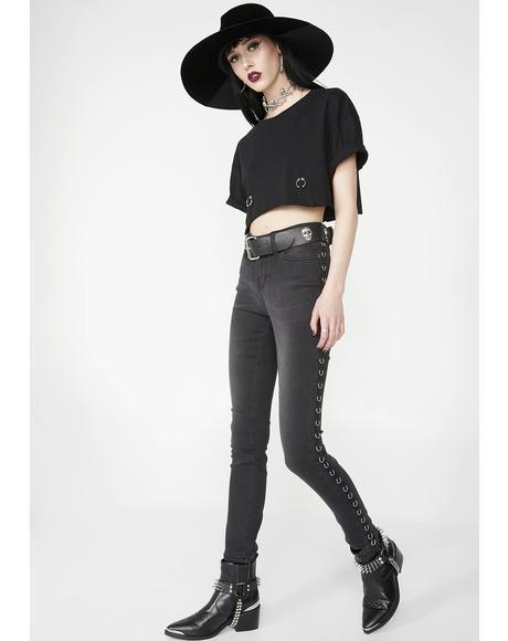 Pierced Veil Skinny Jeans