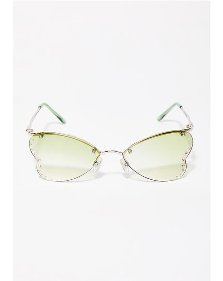 True Luv Heart Sunglasses