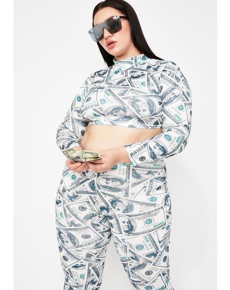 Queen Cash Flowin' Pant Set