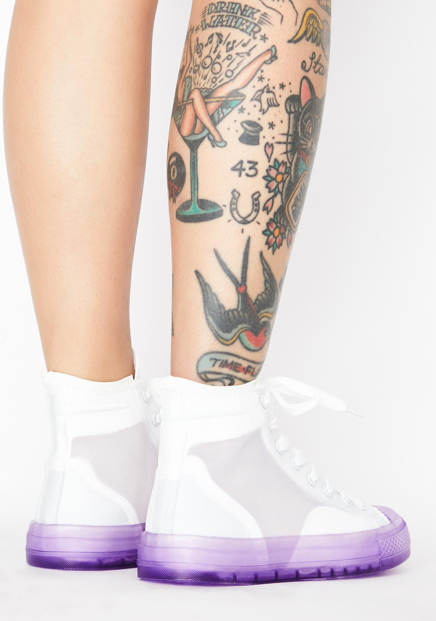 Omega Nebula High Top Sneakers