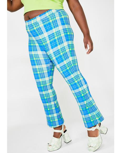 Only IRL Queen Plaid Pants