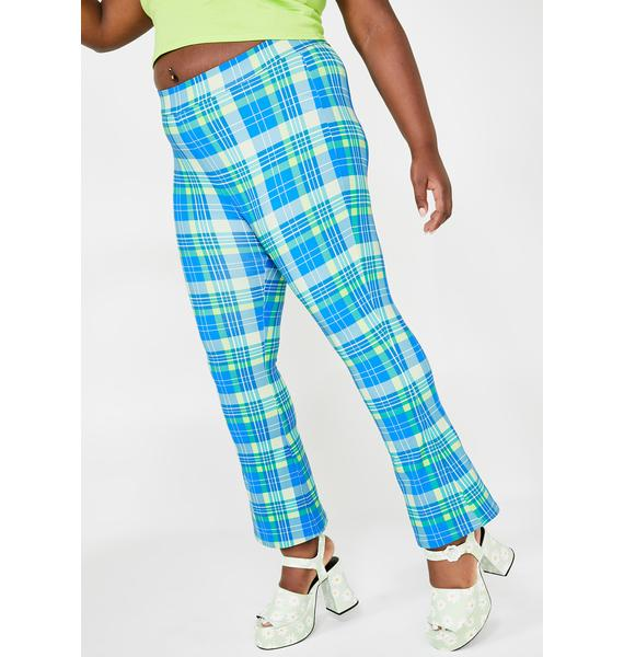dELiA*s by Dolls Kill Only IRL Queen Plaid Pants