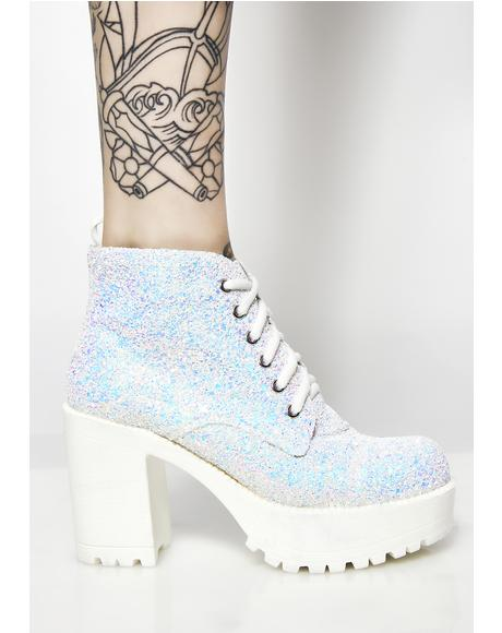 Sweet Dreams Glitter Boots