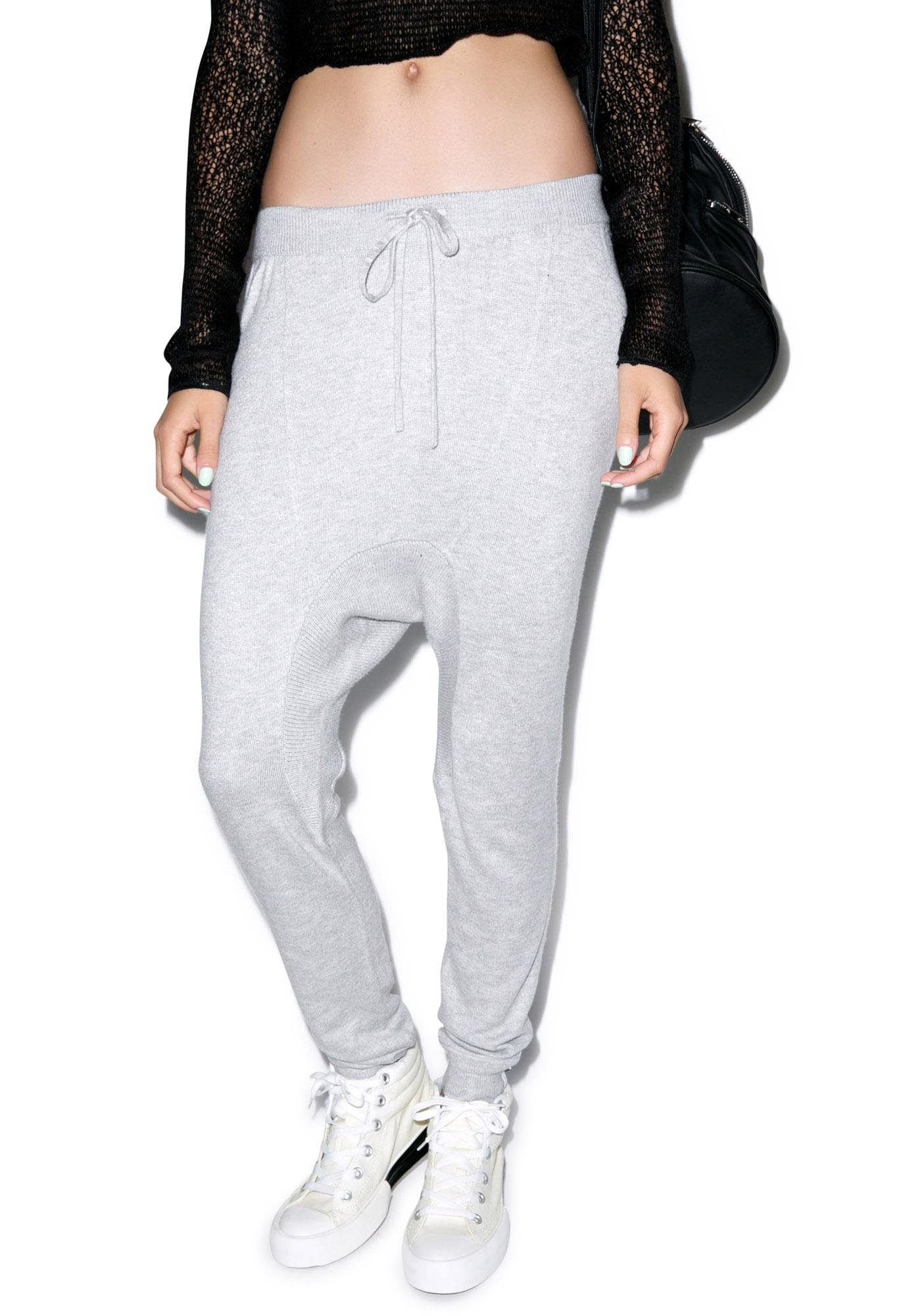 One Teaspoon Super Soft Knit Trackies