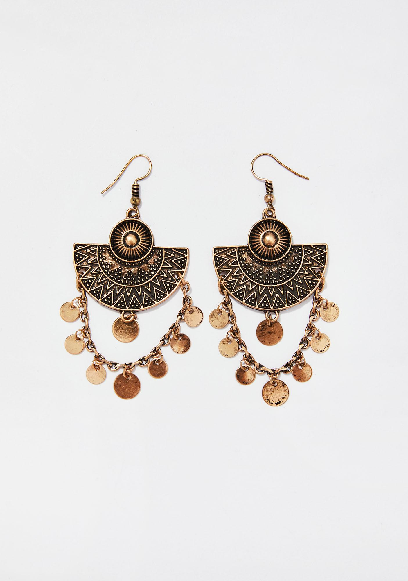 Conquer It Earrings