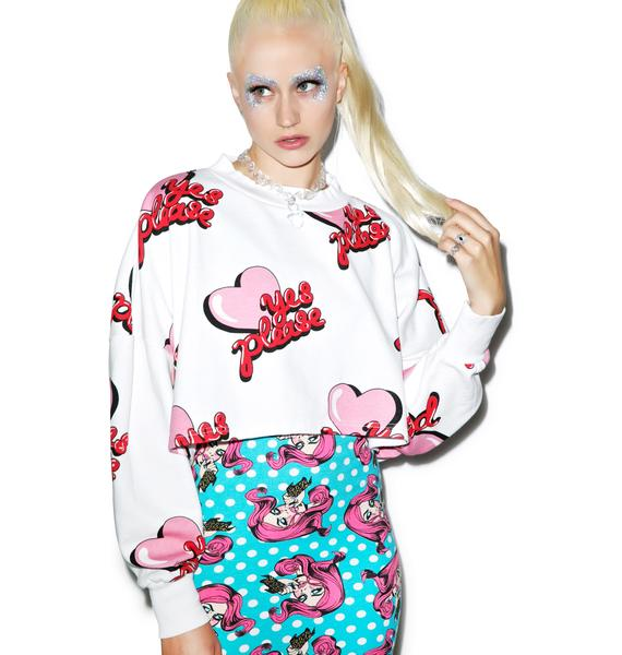 Lazy Oaf Yes Please Sweatshirt