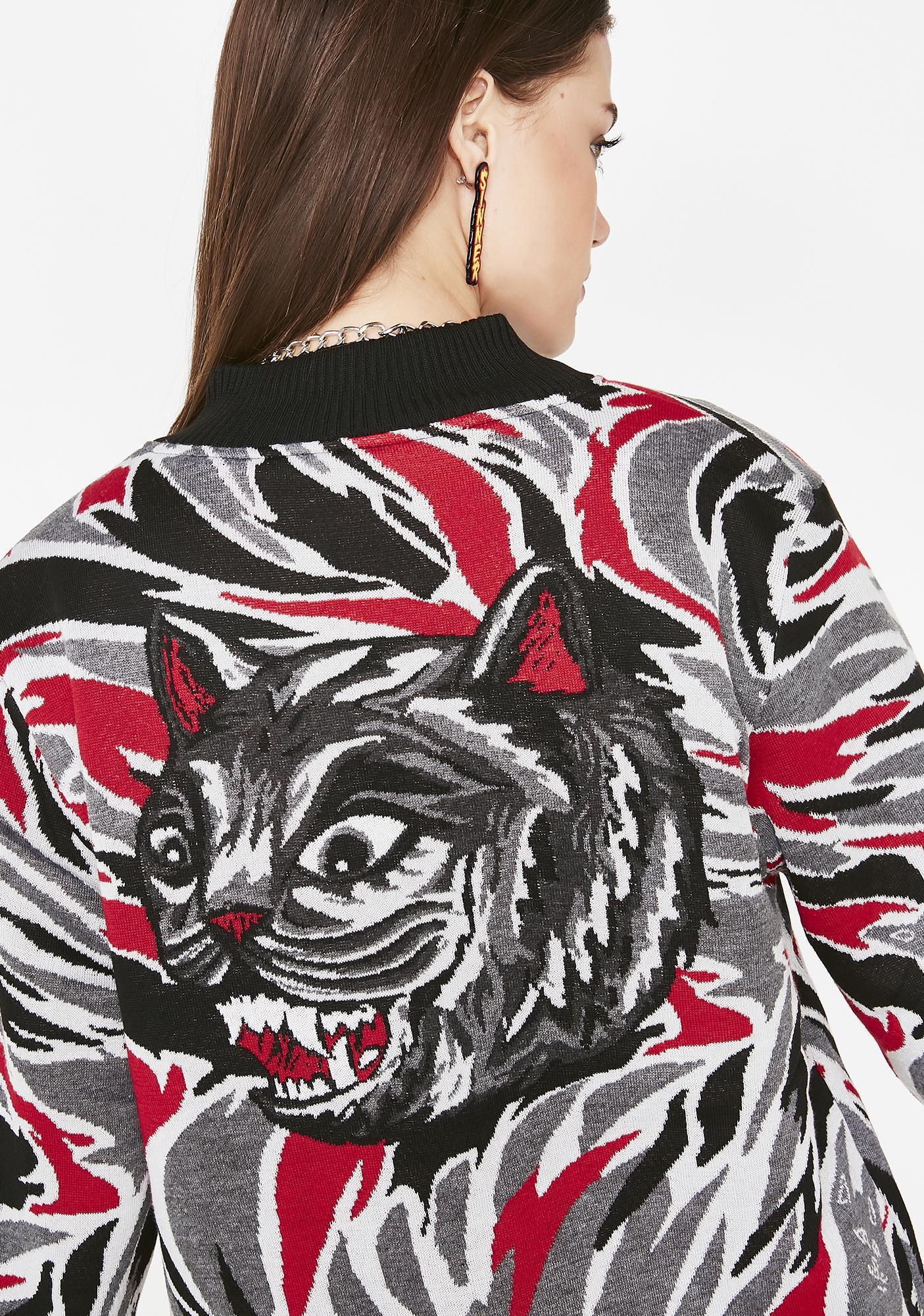 RIPNDIP Lit Tiger Nerm Knit Sweater