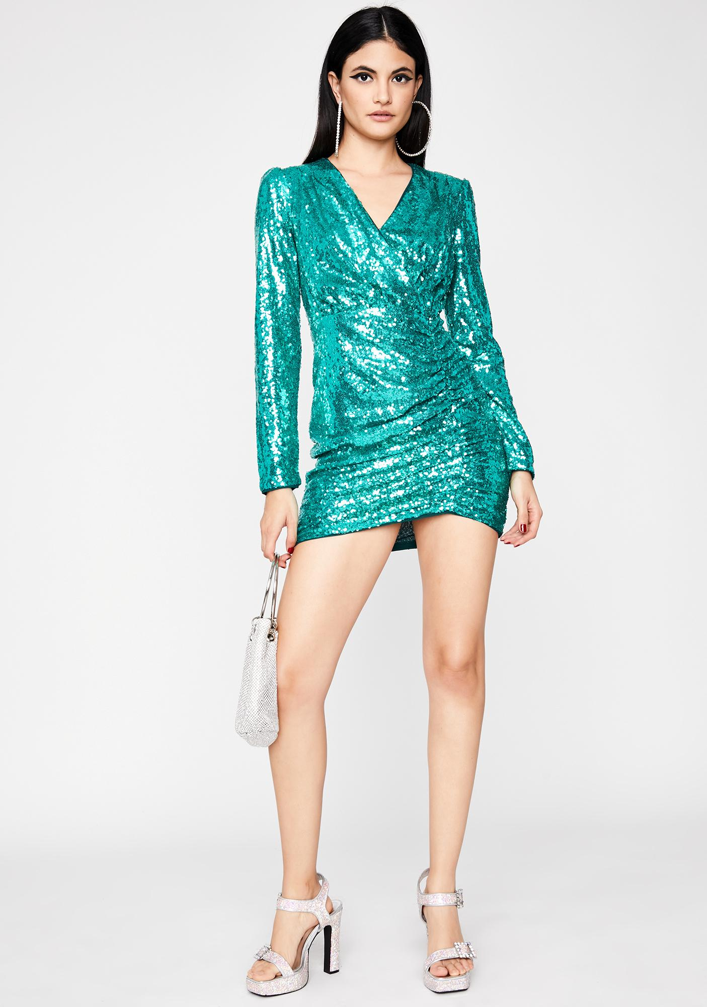 VIP Vixen Sequin Dress