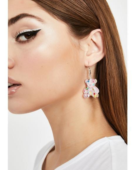 Pixie Sugar Rushin' Gummy Bear Earrings
