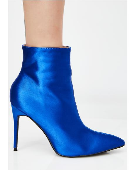 Porter Satin Ankle Boot
