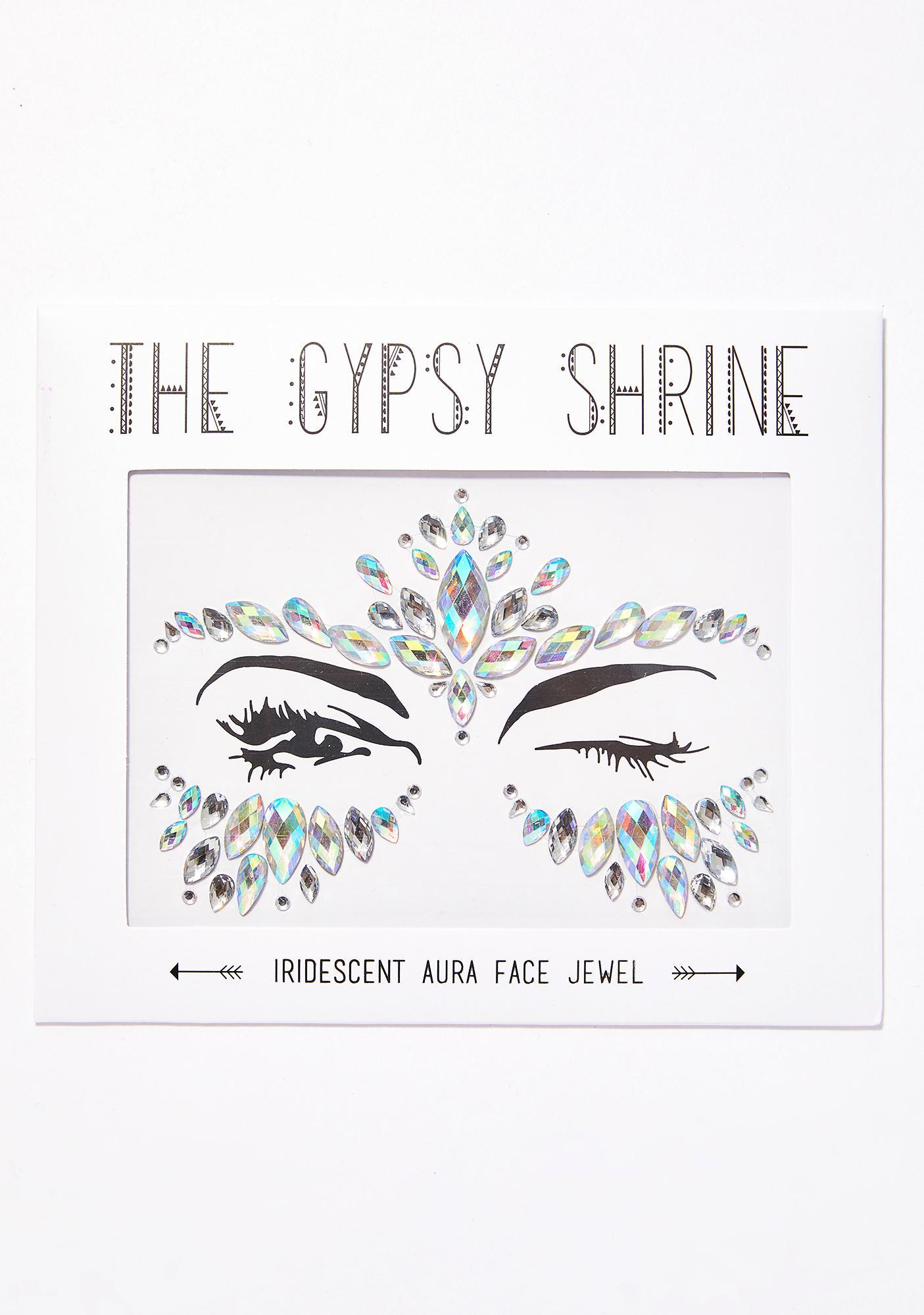 The Gypsy Shrine Iridescent Aura Face Jewels
