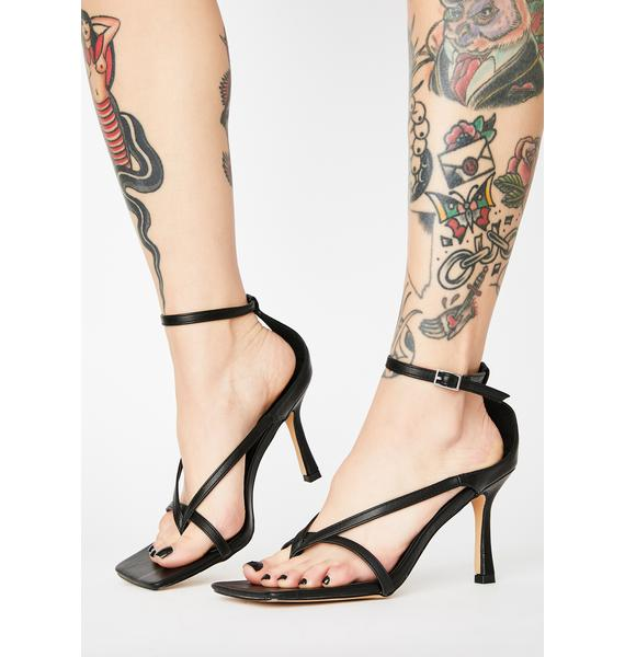 High Maintenance Grl Strappy Heels
